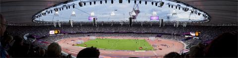 Olympic Stadium, Stratford.