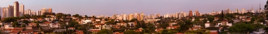 Sao Paulo, Brazil, in the Evening.